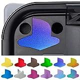PlayVital Calcomanía de Vinilo para Playstation 5 Consola Pegatina de Logo para PS5 Adhesivo Personalizado para PS5 Verción Digital y Disk Base Etiqueta - 8 en Color Cromo & 4 en Gradiente Estilos
