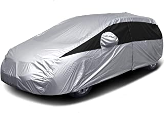 Titan Lightweight Car Cover | Mid-Size Hatchback | Fits Toyota Prius, Mazda 3, Ford Focus, and More | Waterproof Cover Mea...