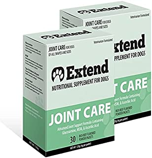 Extend Joint Care Natural Glucosamine with MSM for Dogs,...