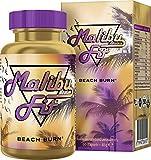 Malibu Fit Beach Burn Fatburner für schnelles Abnehmen zum Sport und als Diät Support mit der...