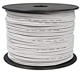 toolcity Cable de Altavoz (Zwilling Litz) 2 x 0,75 mm² (Box Cable/Cable de Audio, 100 m) Color Blanco