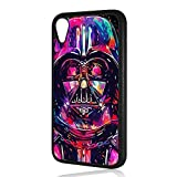 (for iPhone XR) Durable Protective Soft Back Case Phone Cover - HOT30270 Starwars Darth Vader