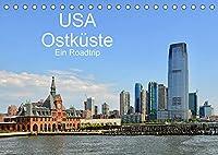 USA Ostkueste Ein Road Trip (Tischkalender 2022 DIN A5 quer): Mit diesen Bildern erwartet Sie ein fantastisches Abenteuer durch die Oststaaten der USA (Monatskalender, 14 Seiten )
