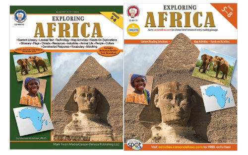 Exploring Africa, Grades 5 - 8 (Continents of World Geography Series)