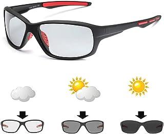 Gafas de Ciclismo Fotocromáticas Polarizadas Ezcaray, Gafas para Hombre y Mujer Ligeras, Flexibles y Cómodas.