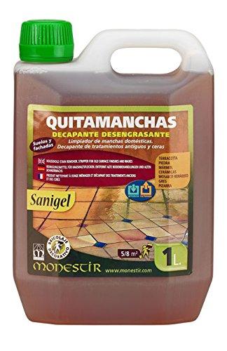 MONESTIR - Quitamanchas Decapante Desengrasante Sanigel 1 L