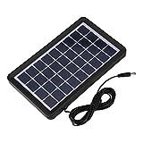 Surebuy Batería Solar De 9V, 93% De Transmisión De Luz Panel Solar Cargador De Batería...