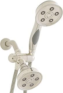 Speakman VS-233014-BN Caspian Anystream 2-Way Shower Combination, 2.5 GPM, Brushed Nickel