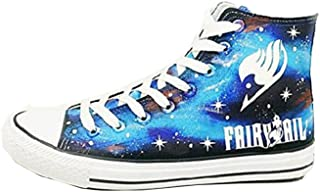 a770286d09e98 Bromeo All Star Fairy Tail Baskets en Toile Logo Anime Cosplay Chaussures  lumineuses
