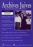 Archives juives n°37/2 - L'affaire Finaly. Pistes nouvelles.