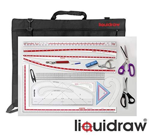 Liquidraw Patroon Maker Mode Ontwerp Patroon Maken Kit van 16 met Tas