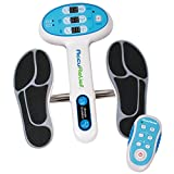 AccuRelief Ultimate Foot Circulator with Remote - EMS Muscle Stimulator - for Neuropathy Pain Relief and to Reduce Swelling Legs and Feet