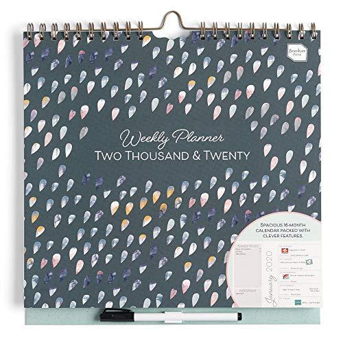 Boxclever Press Weekly Planner 2020. Calendario 2020 con ampio spazio. Planner settimanale perfetto per organizzare giorni occupati. Calendario 2020 da muro inizia Ora e dura fino a Dicembre 2020