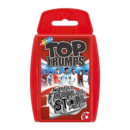 Top Trumps Weltfußballstars Kartenspiel