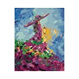 xdai Puzzle 1000 Piezas Adultos -Entretenimiento Adultos y Adolescentes- Juegos Educativos - Rompecabezas Adultos Jigsaw -Chica de la lámpara mágica -50x75cm