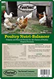 Poultry Nutribalancer includes vitamins, minerals, electrolytes and probiotics for healthy birds Organic unmedicated natural premix booster supplement for starter, grower or layer feed Combine this 10lb bag with 650 lbs of premium feed for probiotic ...