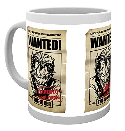 GB Eye LTD, Batman Comic, Joker Wanted, Taza