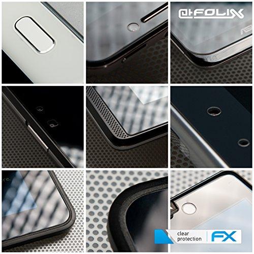 atFolix Schutzfolie kompatibel mit RugGear RG900 Folie, ultraklare FX Displayschutzfolie (2X)