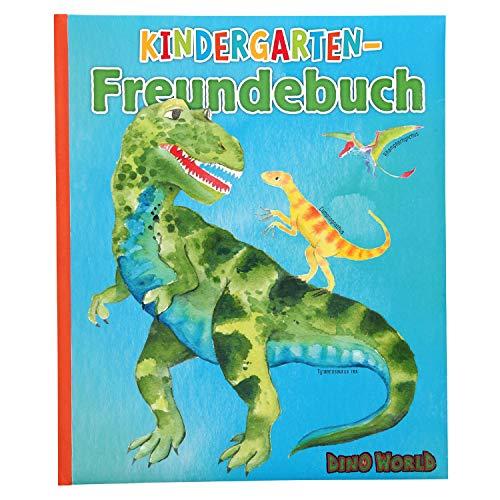Depesche 11081 Freundebuch für den Kindergarten, Dino World, ca. 21,5 x 18 x 1,5 cm