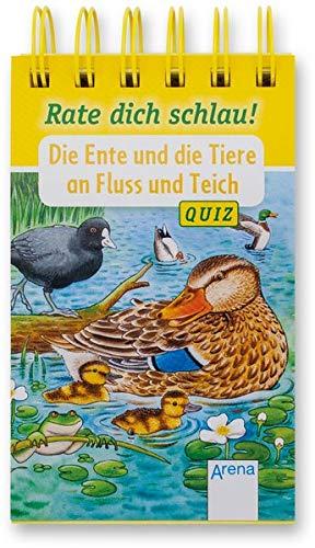 Die Ente und die Tiere an Fluss und Teich: Rate dich schlau! Quiz