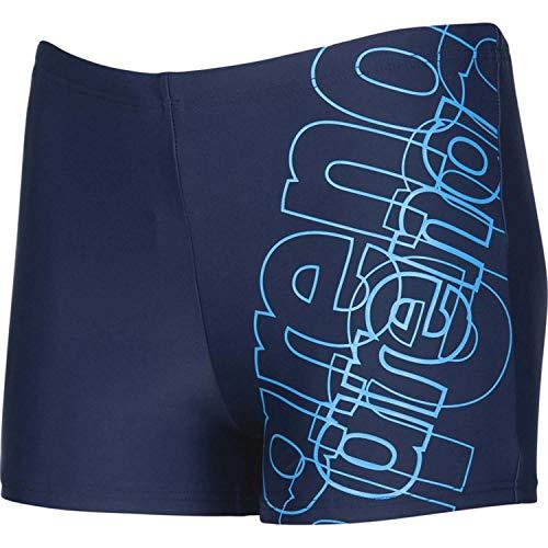 ARENA 003166 Jungen Badeshorts Spotlight Badehose, Navy-Turquoise, 152