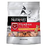 Nutri-Vet Hip & Joint Biscuits for Dogs | Tasty Dog Glucosamine Treat & Dog Joint Supplement | SMALL Biscuit with 166mg Glucosamine | 19.5 Oz Bag