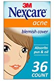 Nexcare Acne Cover, 36 Count, Invisible, Drug Free