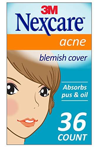 2.  Nexcare Parches absorbente para el acné