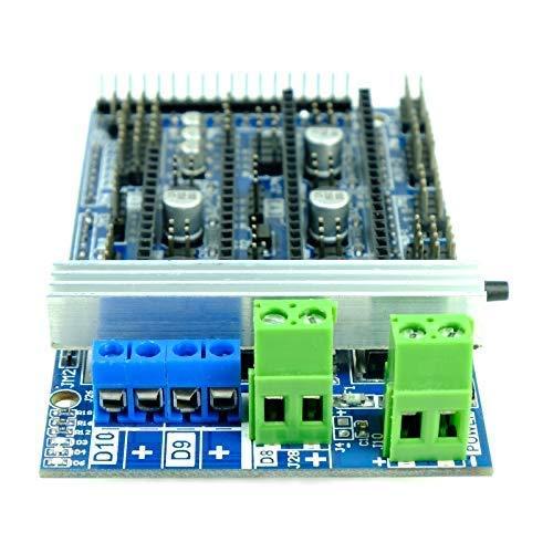 RepRap Arduino Mega Pololu kompatibles Shield (RAMPS) 1.6 für 3D Drucker, Prusa Mendel, Mega i3