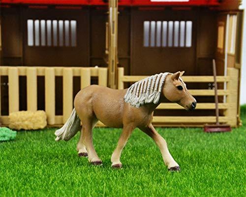 44 soorten boerderijdieren Appaloosa Harvard Hannover Clydesdale Quarter arabian Horse collection boerderij stabiel figuur Model kinderspeelgoed, vrouwelijk Harvard-paard