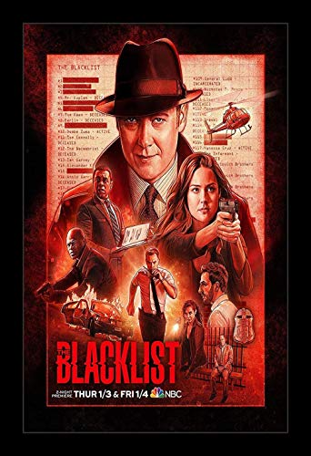 BIGGROUP #The #Blacklist Movies for Fan Love Lovers Poster Wall Art Gifts