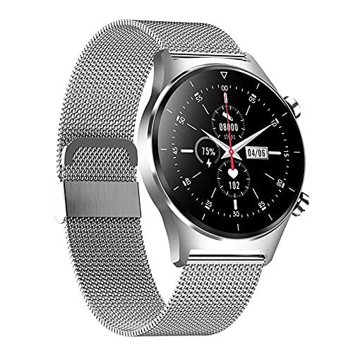 ZGZYL E13 Smart Fitness Tracker para hombre con presión arterial/Spo2/monitoreo de frecuencia cardíaca GPS podómetro Cronómetro IP68 impermeable reloj deportivo