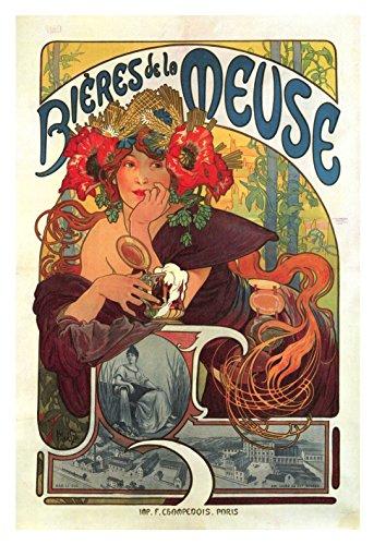 Het Museum Outlet - Kunst Postkaart - Bier - Set van 12 Postkaarten