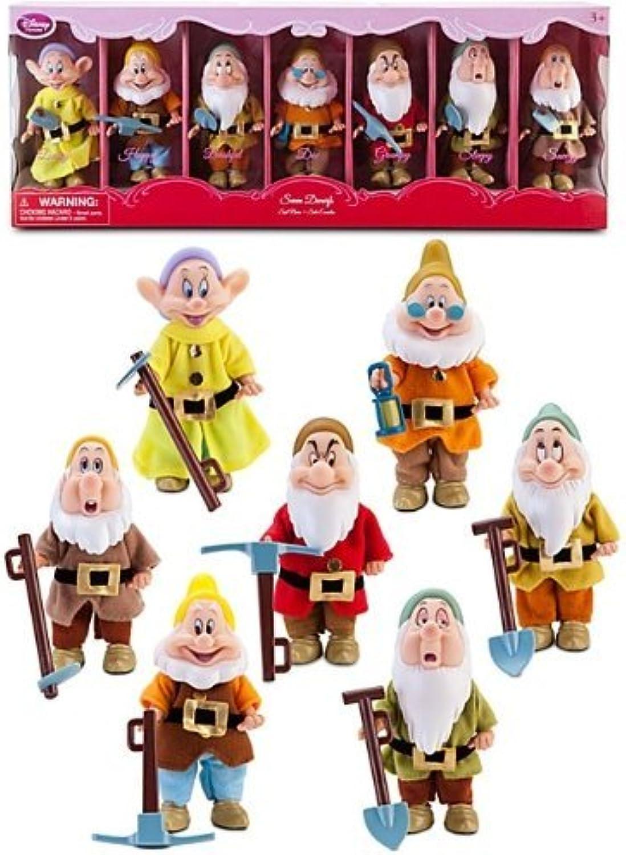 Disney Store Snow White's Seven Dwarfs Doll Gift Set