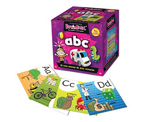 Brain Box- Juego de Memoria ABC Español, Multicolor (BrainBox 316934201)