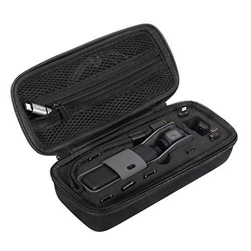 JSVER Mini Tragetasche für DJI osmo Pocket, Tasche Schützend Carrying case Wasserdicht Kompatibel mit DJI Osmo Pocket Kamera, Filters und Zubehör