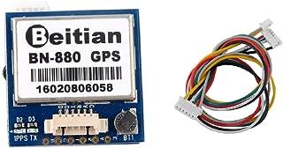 Beitian BN-880 GPS Module with Flash HMC5883 Compass + GPS Active Antenna Support GPS Glonass Beidou Navigation for Arduino Raspberry Pi Aircraft Pixhawk Betaflight CC3D F4 Flight Control Wishiot