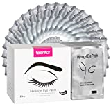 Teenitor 110 Pairs Set Under Eye Pads, Professional Eyelash Pad Gel Patch for Lashes Extension Lint Free Eye Mask Tool