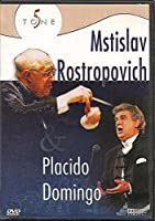 Placido Dominigo & Mstislav Rostropovich [DVD]