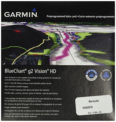 Garmin BlueChart g2 Vision Bermuda Saltwater Map microSD Card