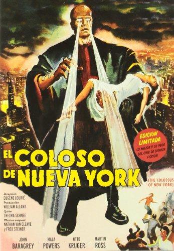 El Coloso De Nueva York (The Colossus Of New York) [1958] *** Region 2 *** Spanish Edition ***