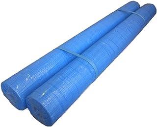 ブルーシートロール 0.9m×100m 2本組 ブルーロール 養生ロール