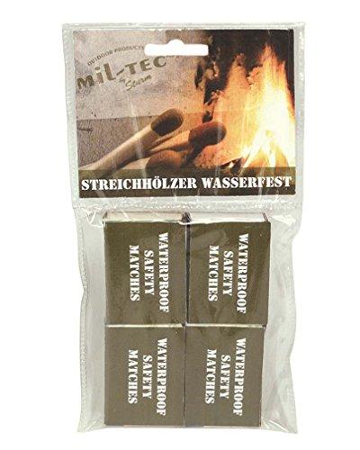 Allumettes waterproof blister - Miltec