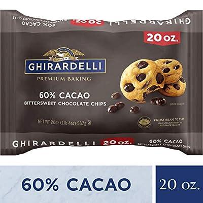 Ghirardelli 60% Cacao Bittersweet Chocolate Premium Baking Chips - 20 oz. (567g)?
