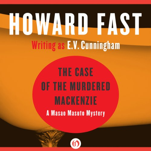 The Case of the Murdered Mackenzie audiobook cover art