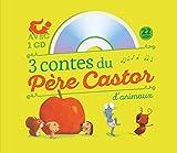 3 contes du Père Castor d'animaux - Le petit hérisson partageur ; Dans le ventre du moustique ; Un travail de fourmis (1CD audio)