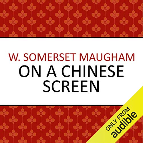 Couverture de On a Chinese Screen