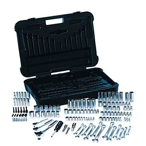 Craftsman Mechanics Tool Set S.A.E 1/4 in. , 3/8 in. and 1/2 in. Drives 1/4 in.