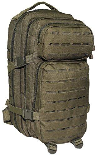MFH US Rucksack Assault I Laser Daypack MOLLE (Oliv)