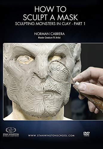 How to Sculpt a Mask: Sculpting Monsters in Clay Part 1